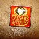 Caesars Emperors Club all metal pin badge.
