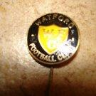 Vintage Watford F.C. soccer stick pin badge.