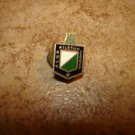 Vintage Club Atletico National screw on back soccer pin badge.