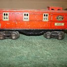 Lionel Pre WWII O gauge 1682 metal caboose.