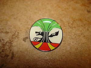 Italian football soccer association pin badge.