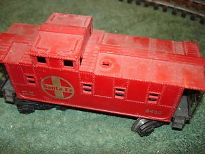 Lionel O scale 6430  Santa Fe caboose