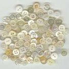 Wonderful lot of 100 small buttons.