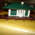 Plasticville HO Railraod station offered by MTH.