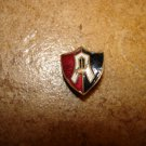 Vintage F.C. Atalante Mexico button hole soccer pin