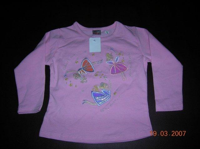 T-Shirt : Longsleve NEXT Pink