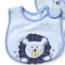 Bib : Carters Lion Blue