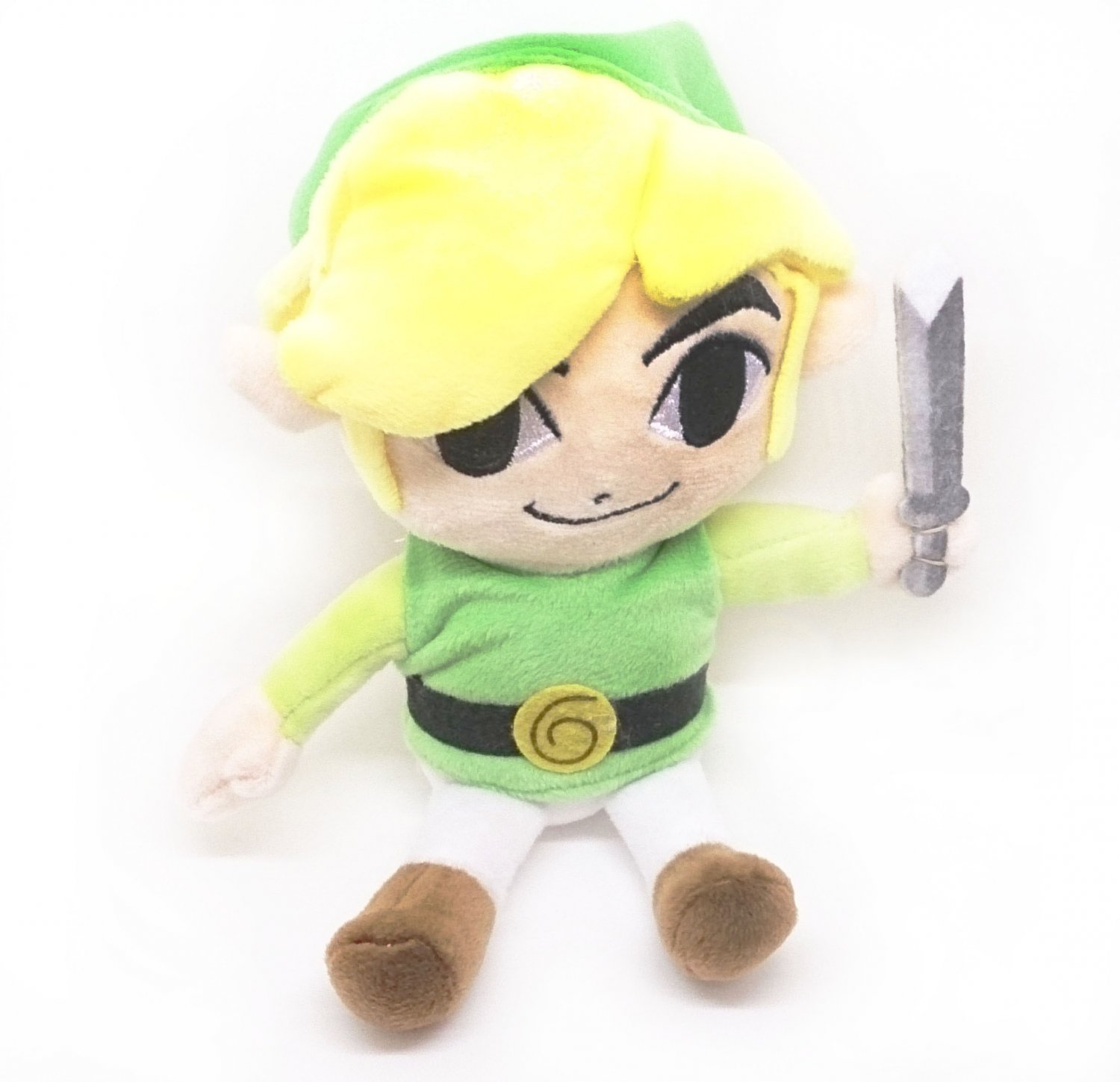 """Toon Link Plushie - 7"""" legend of Zelda Young Toon Link Adorable Doll Gift"""