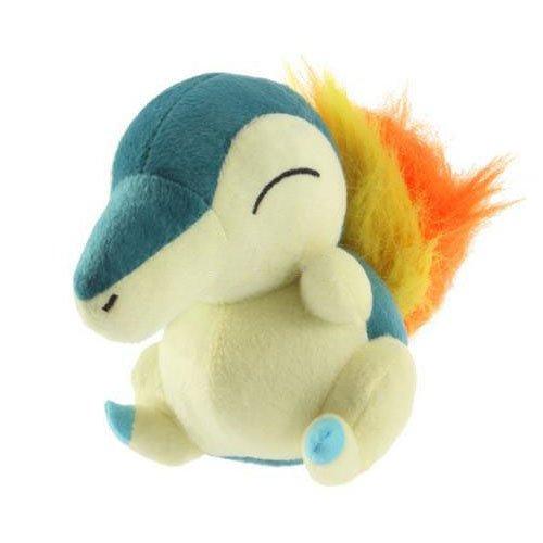 "Cute! 5"" Pokemon Cyndaquil Plush Soft Doll Hinoarashi Toy for Kid"