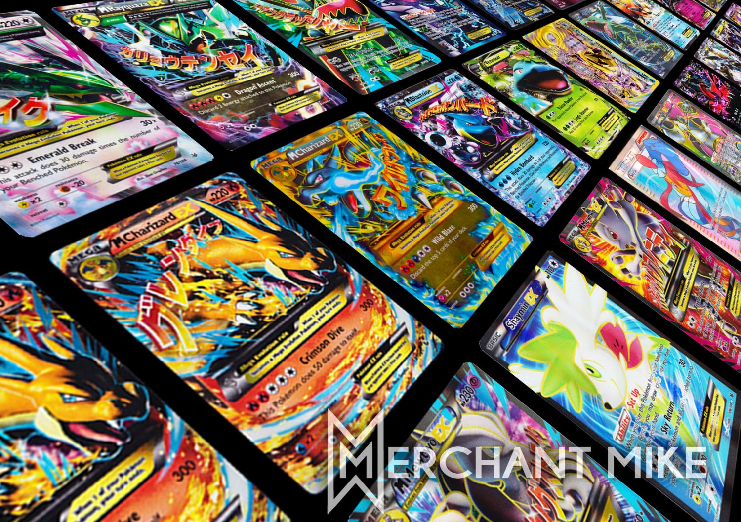 Amazing 20 Pokemon Card Lot EX?BREAK?FULL ART?MEGA? MEWTWO?CHARIZARD?LUCARIO?