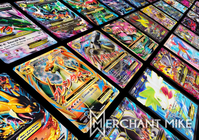 Amazing 50 Pokemon Card Lot GX?EX?BREAK?FULL ART?MEGA? CHARIZARD?VENUSAUR?BLASTOISE?