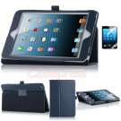 For New iPad Mini Magnetic PU Leather Folio Stand Case Cover Sleep Wake +Film