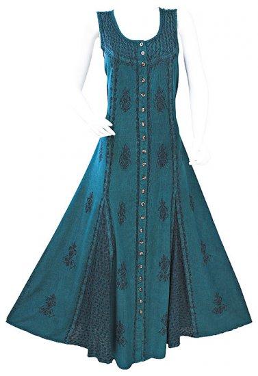 Gothic Vicorian Godet Dress