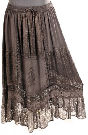 Victorian Lace Skirt