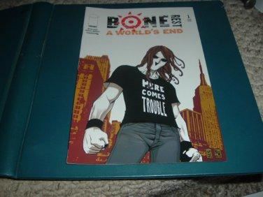 Bone Rest: A World's End #1 NEAR MINT- (Image Comics 2005) Giuseppe Camuncoli comic for sale