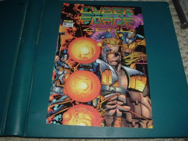 Cyber Force #0 1-Shot Special (Walter Simonson, Image Comics 1993) Cyberforce 29 page GN For Sale