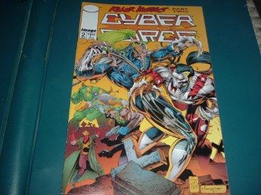 Cyber Force vol 2 #2 VERY FINE+ (Marc Silvestri, Image Comics 1994) Cyberforce comic For Sale