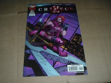 Crimson #4 Humberto Ramos regular Cover (Image/Cliffhanger Comics 1998) Save $$$ Shipping Special