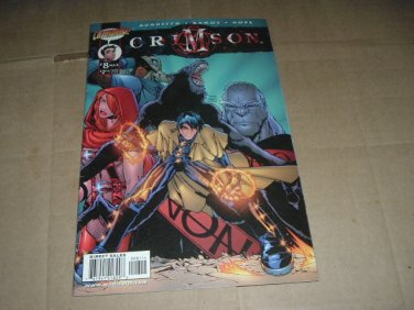 Crimson #8 Humberto Ramos regular Cover (DC/Cliffhanger Comics 1999) Save $$$ Shipping Special