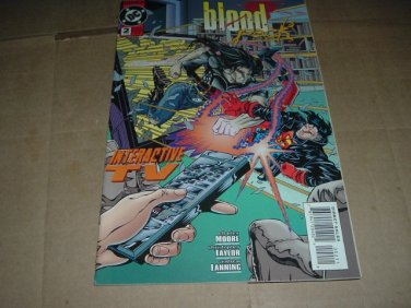 Blood Pack #2 VERY FINE- (DC Comics 1995) Bloodlines characters get own series, Shipping Special