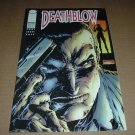 Deathblow #13 with Tim Sale & Jim Lee POSTER INTACT (Image Comics 1995) comic book for sale