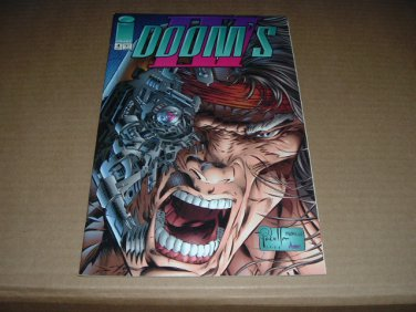 Doom's IV #4 NEAR MINT- (Rob Liefeld, Image Comics 1994) SAVE $$$ SHIPPING SPECIAL, comic for sale