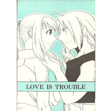 [Full Metal Alchemist] Love is Trouble (Ed x Winry)