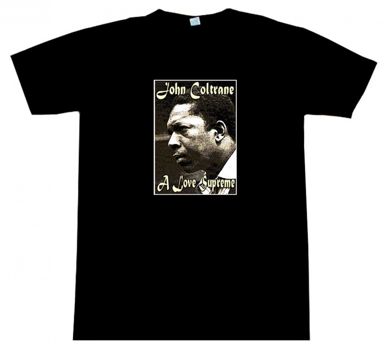 d36bcdbe2ade John Coltrane A LOVE SUPREME T-Shirt BEAUTIFUL!!