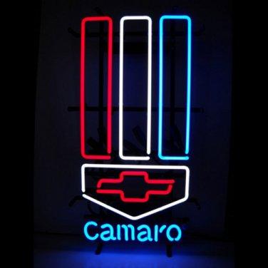"New CAMARO Car Racing Beer Bar Neon Light Sign 16""x 14"" [High Quality]"