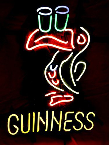 "Brand New GUINNESS BEER Brewery Neon Light Sign 16""x15"" [High Quality]"