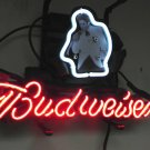 "Brand New BUDWEISER Presley Beer Neon Light Sign 14""x8"" [High Quality]"