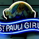 "Brand New St. Paul girl Brewing Germany Neon Light Sign 16""x 13"" [High Quality]"