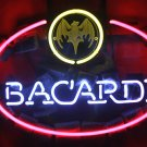 "Brand New BACARDI White Rum Beer Bar Pub Neon Light Sign 16""x14"" [High Quality]"