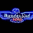 "Brand New FORD Thunderbird Auto Beer Neon Light Sign 18""x 12"" [High Quality]"