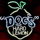 "Brand New Doc's Hard Lemon Beer Neon Light Sign 16""x 13"" [High Quality]"