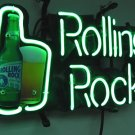 "Brand New ROLLING ROCK Beer Bar Neon Light Sign 14""x 8"" [High Quality]"