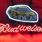 "Brand New Budweiser Nascar #17 Car Racing Neon Light Sign 13""x 8"" [High Quality]"