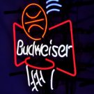 "Brand New Budweiser Basketball Logo Beer Neon Light Sign 16""x 15"" [High Quality]"