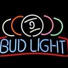 "Brand New Bud Light Bud Pub Beer Bar Neon Light Sign 16""x 13"" [High Quality]"
