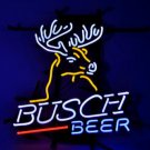 "Brand New Busch Light Deer Budweiser Tube Neon Light Sign 16""x15"" [High Quality]"