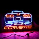 "Brand New Corvette Auto Racing Neon Light Sign 18""x 16"" [High Quality]"