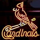 "Brand New St. Louis Cardinals Baseball Neon Light Sign 16""x 14"" [High Quality]"