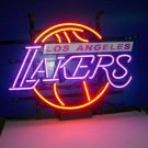 """Brand New NBA Los Angeles Lakers Beer Bar Neon Light Sign 18""""x 16"""" [High Quality]"""