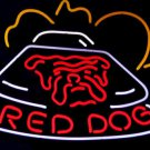 "Brand New Hot Red Dog Game Room Pool Neon Light Sign 18""x 16"" [High Quality]"