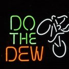"Brand New Do The Dew Beer Bar Mountain Neon Light Sign 19""x 15"" [High Quality]"