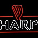 "Brand New Harp Lager Guinness Logo Beer Bar Neon Light Sign 18""x 16"" [High Quality]"
