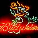 "Brand New Chinese Dragon Logo Budweiser Bar Neon Light Sign 16""x 15"" [High Quality]"