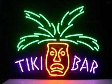 "Brand New Tiki Bar Paradise Palm Beer Bar Neon Light Sign 18""x 16"" [High Quality]"