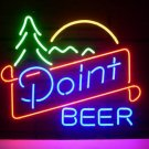 "Brand New Point Beer Bar Neon Pub Light Sign 18""x 16"" [High Quality]"