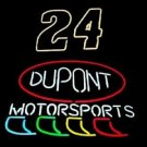 "Nascar #24 Jeff Gordon Dupont Motorsports Beer Bar Neon Sign 17""x13"" [High Quality]"